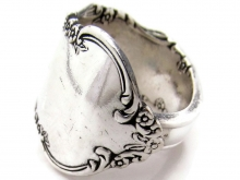 Spoon Ring Dresden rose from 1953